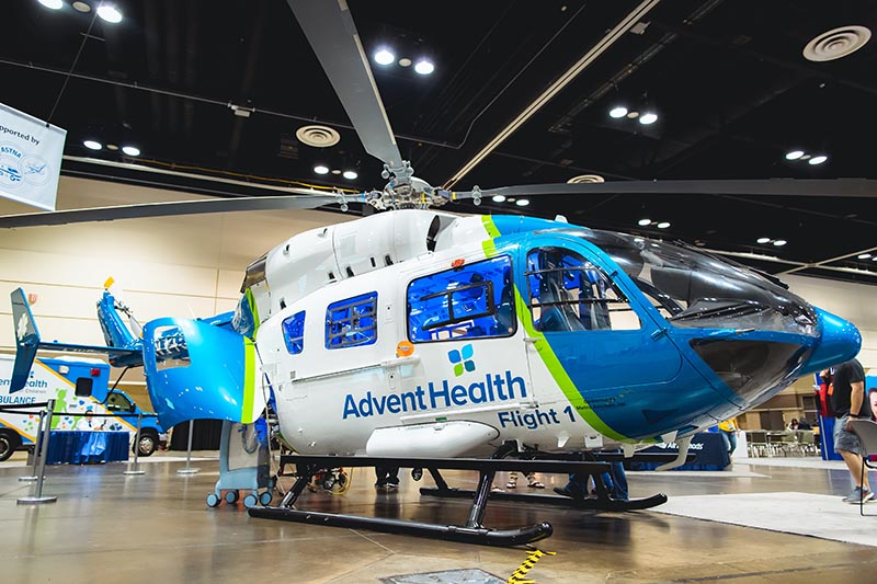 Advent Health Helicopter